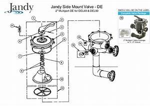 Jandy 2 U0026quot  Side Mount Valve