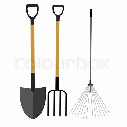 Rake Shovel Hark Pictogram Tools Garden Giardino
