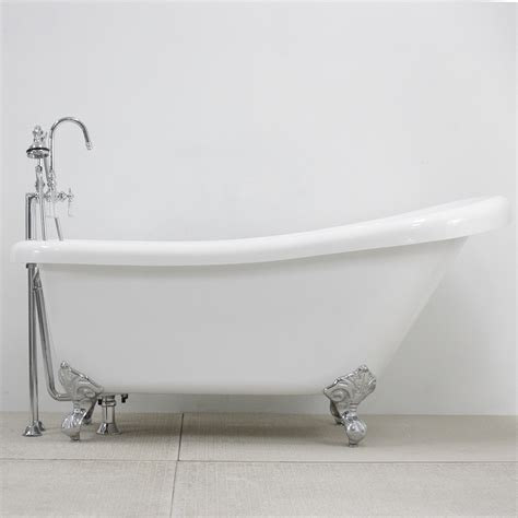 single slipper clawfoot tub  faucet pack