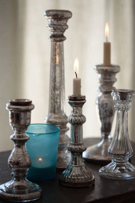 Spray-Paint Glass Candle Holders