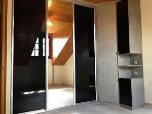 Dressing Avec Miroir : dressing sur mesure et chambre ~ Teatrodelosmanantiales.com Idées de Décoration