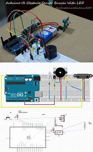 Arduino Ir Obstacle Sensor Buzzer With Led
