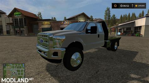 2013 Ford F-550 V 1.0 Mod Farming Simulator 17
