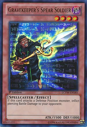 yugioh gravekeeper deck 2006 gravekeeper s spear soldier decks and ruling yugioh