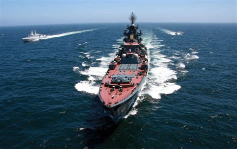 Russia Is Retrofitting Its Heavy Cruisers As Carrier