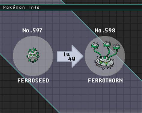 pokemon   week ferrothorn