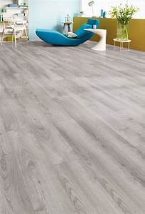 revetement de sol stratifie chene gris clair parquet With bricorama parquet stratifié