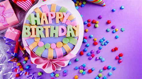 Happy Birthday Wallpaper by Wallpaper Happy Birthday Cake 183 Wallpapertag