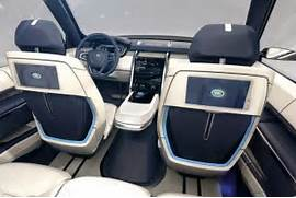 2017 Land Rover Discovery 5 Specs  Release Date - Best Luxury SUV  Land Rover Discovery 2017 Interior