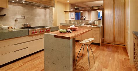 kitchen island rustic modern concrete meets traditional cheng concrete exchange