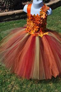 fall inspired flower girl dress leaf flower girl dress With fall wedding flower girl dresses
