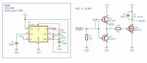 Driving MOSFET with 26kHz PWM from NE555, MOSFET not ...