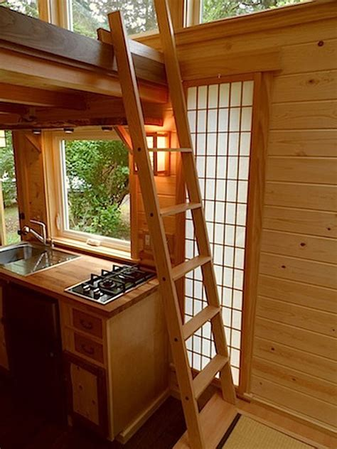 small home floor plans tiny house stairs ladders living big in a tiny house