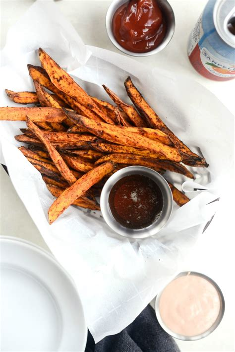 fryer air potato sweet fries crispy recipe simplyscratch scratch frying snap enjoy give try let know