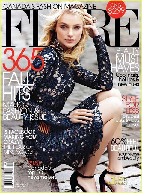 Full Sized Photo Of Jessica Stam Covers Flare Magazine