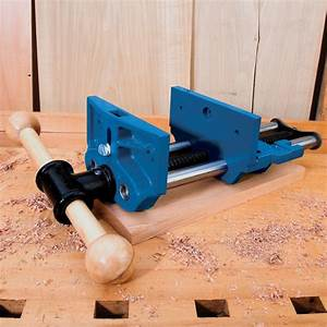 """7"""" Quick Release Workbench Vise Rockler Woodworking and"""