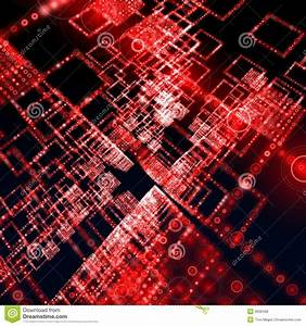 Red matrix wallpaper stock illustration. Illustration of ...