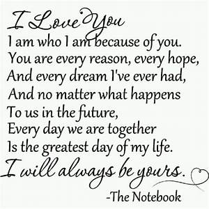 The notebook | Quotes that I love | Pinterest