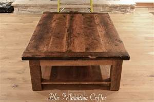 rustic coffee tables reclaimed wood coffee tables With oversized reclaimed wood coffee table
