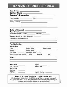 10 best images of banquet proposal template event With banquet event order form template