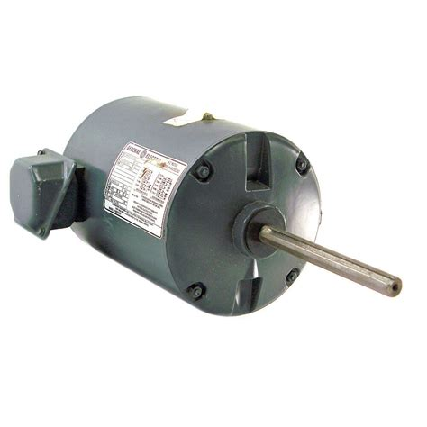 1 Hp Electric Motor by General Electric Thermally Protected 1 Hp Ac Motor