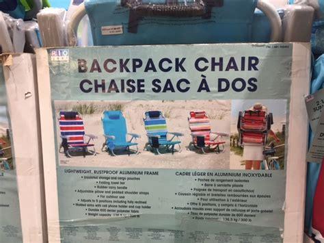 chaise de plage costco trouvailles costco je suis une maman