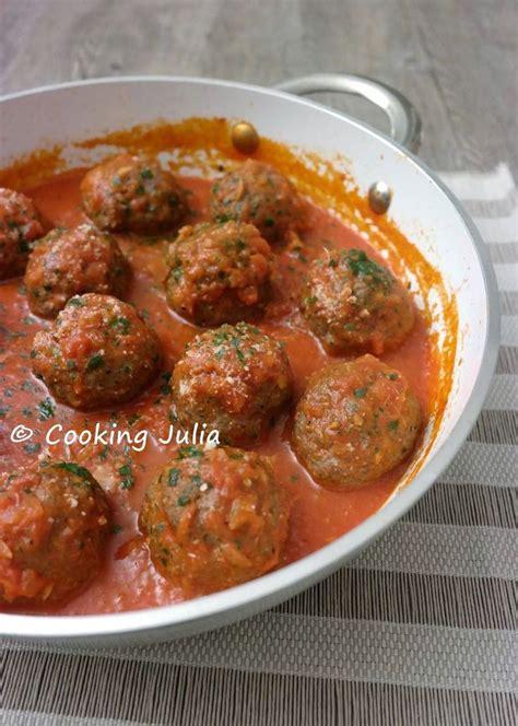 cuisiner des boulettes de viande cooking boulettes de viande à l 39 italienne plats