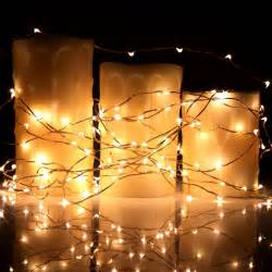 string lights 40ft 120 micro led string lights on copper wire for