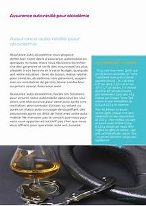 Assurance Auto Alcoolémie 3 Ans : assurance auto alcoolemie ~ Medecine-chirurgie-esthetiques.com Avis de Voitures