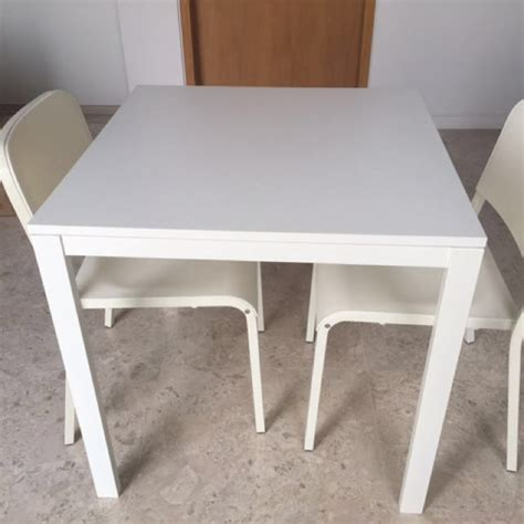 Melltorp Tisch Ikea by Used Ikea Melltorp Dining Table And 2 Chairs Set