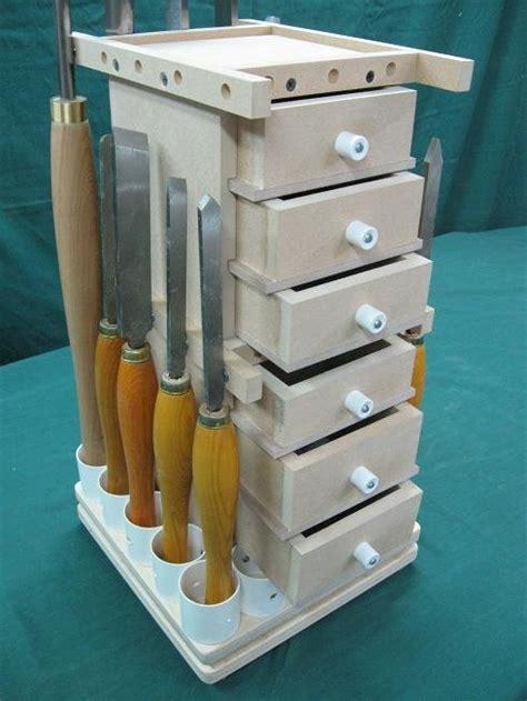 lathe tools revolving storage tower  bricofleur