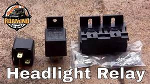 Land Rover Defender Headlight Relay Upgrade