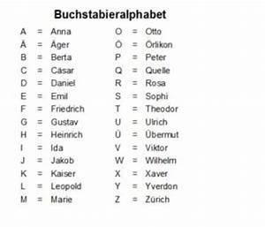 Genaues Alter Berechnen : buchstabieralphabet schweiz ~ Themetempest.com Abrechnung