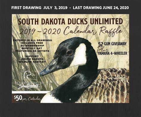 south dakota du gun calendar raffle