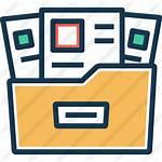 Manage Icon Icons Drawer Documents Datenschutzberatung Dokumente