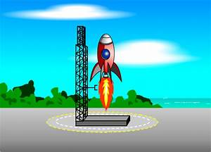 Animated Rocket Launch