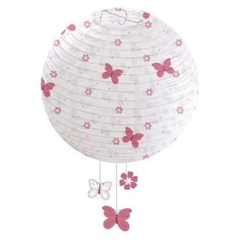 suspension chambre bébé domiva suspension lanterne papier butterfly achat