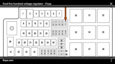 Ford Five Hundred Fuse Block Diagram by Ford Five Hundred Questions I A 2007 Ford Five