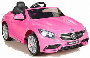 Auto Sitzkissen Kinder : mercedes benz amg s63 kinderauto kinderfahrzeug kinder elektroauto 2xmt 12v rosa ebay ~ Avissmed.com Haus und Dekorationen