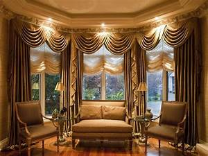 furniture living room with window treatment and brown With drapery designs for living room