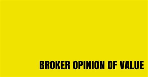 opinion value broker business strange completed cost