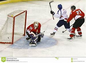 Hungary Vs. Korea IIHF World Championship Ice Hockey Match ...