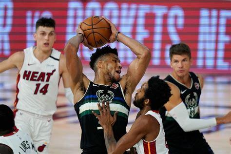 En vivo: Heat vs Bucks, Playoffs - Temporada 2020