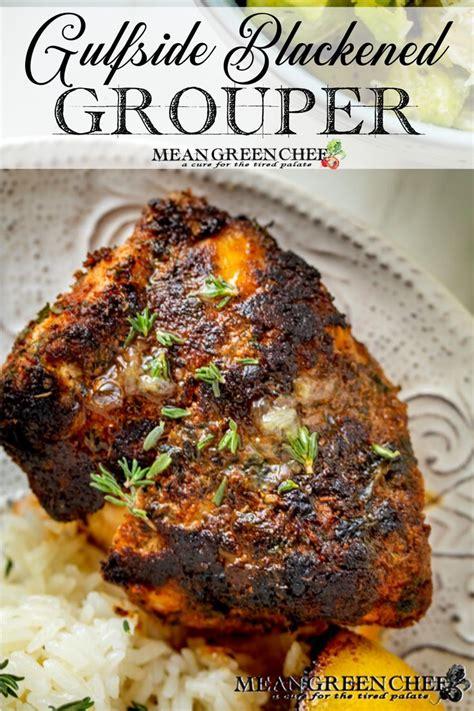 grouper blackened