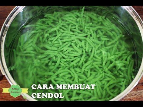 bahan bahan 1 kebat daun cendol suji 150 gram tepung