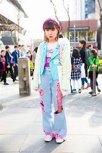 Harajuku Cht Vy Street Style Ca Tokyo Fashion Week