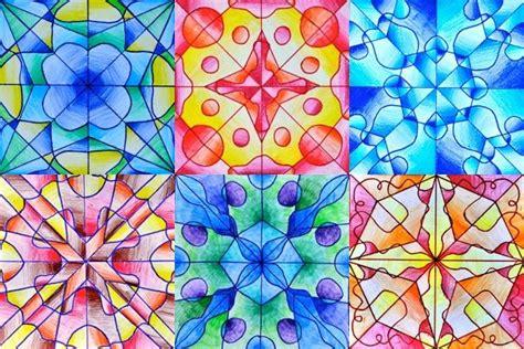 drawings  radial symmetry symmetry art art lessons