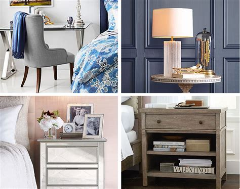 Decorating Ideas Your Bedside Table by 7 Stylish Bedside Table Decor Ideas Pottery Barn