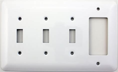mulberry light switch covers mulberry princess style white four gang combination switch