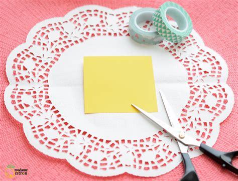 diy tuto corbeille en napperon de papier madame citron de cr 233 ations et diy